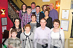 Pat O'Shea, Laharn, Caherciveen, pictured with his family as he celebrated his 50th birthday in Lord Kenmares Restaurant, Killarney on Saturday night.