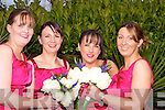 Bridesmaids at Helen Deane and Mark Reidy's wedding on Friday in Ballygarry House Hotel & Spa, Tralee. L-r: Karen O'Brien, Sheila Deane, Marguerite Foley and Marcella Deane.....................