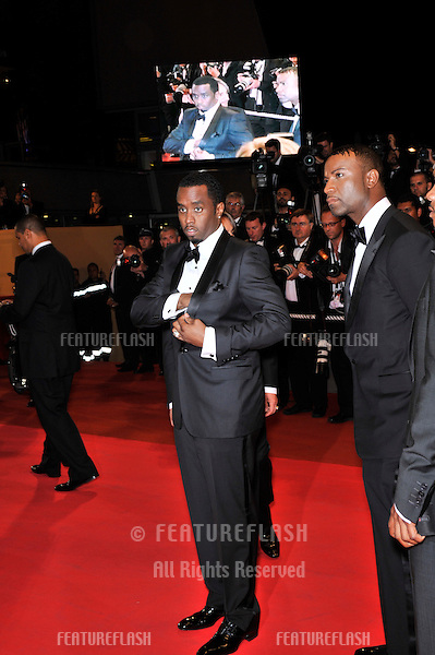 "Sean Combs, aka ""P. Diddy"", at the premiere of ""Two Lovers"" at the 61st Annual International Film Festival de Cannes..May 19, 2008  Cannes, France..Picture: Paul Smith / Featureflash"