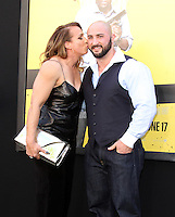 "10 June 2016 - Los Angeles, California - Dany Garcia and husband Dave Rienzi. ""Central Intelligence"" Los Angeles Premiere held at Westwood Village Theatre. Photo Credit: AdMedia"