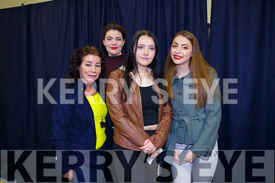 Adapt Charity Shop Fashion Show in aid of Adapt Kerry Women's Refuge on Friday. Pictured Miriam Owens, Aoife O'Hanlon, Victoria Kacprzak, Arbresha Kastrati