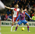 Clint Hill and Alex Fisher