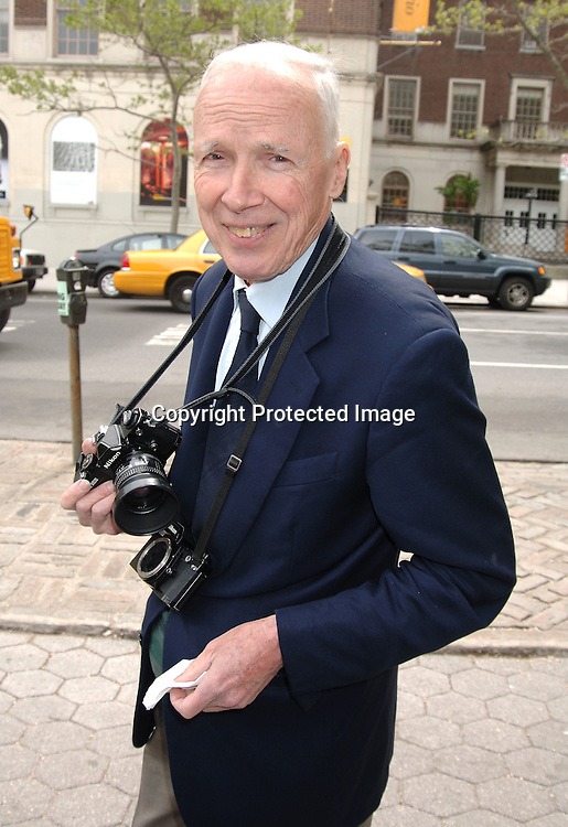 Bill Cunningham ..at The 24th Annual Frederick Law Olmsted Awards Luncheon on May 3, 2006 at The Central Park's Conservatory Garden presented by the Women's Committee of the Central Park Conservancy. ..Robin Platzer, Twin Images