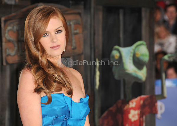 """Isla Fisher at the Los Angeles premiere of """"Rango""""  at the Regency Village Theater in Westwood, CA, USA.February 14, 2011 © mpi11 / MediaPunch Inc."""
