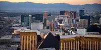 JUL 09 Aerial Views of The Las Vegas Strip in Las Vegas, NV