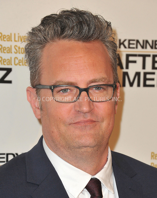 www.acepixs.com<br /> <br /> March 15 2017, LA<br /> <br /> Matthew Perry arriving at the premiere of 'The Kennedys After Camelot' at The Paley Center for Media on March 15, 2017 in Beverly Hills, California.<br /> <br /> By Line: Peter West/ACE Pictures<br /> <br /> <br /> ACE Pictures Inc<br /> Tel: 6467670430<br /> Email: info@acepixs.com<br /> www.acepixs.com