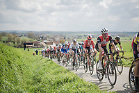 Jasper STUYVEN (BEL/Trek-Segafredo)<br /> <br /> 74th Dwars door Vlaanderen 2019 (1.UWT)<br /> One day race from Roeselare to Waregem (BEL/183km)<br /> <br /> ©kramon