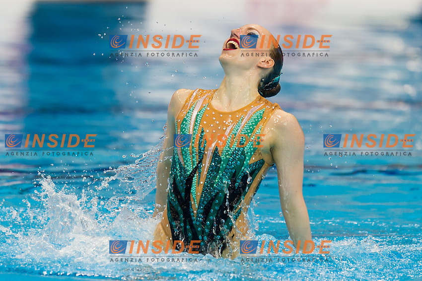 BOJER Marlene GER<br /> London, Queen Elizabeth II Olympic Park Pool <br /> LEN 2016 European Aquatics Elite Championships <br /> Synchro<br /> Solo Technical final <br /> Day 04 12-05-2016<br /> Photo Giorgio Perottino/Deepbluemedia/Insidefoto