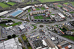 An aerial view in February 2012 of Daly's Corner and  Daly's SuperVAlu and Park Road, Killarney..Picture by Don MacMonagle