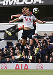 Eric Dier-Tottenham & Steve Cook-Bournemouth during the English Premier League match at the White Hart Lane Stadium, London. Picture date: April 15th, 2017.Pic credit should read: Chris Dean/Sportimage