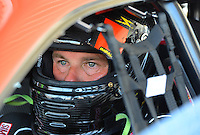 Sept. 23, 2012; Ennis, TX, USA: NHRA pro stock driver Richard Freeman during the Fall Nationals at the Texas Motorplex. Mandatory Credit: Mark J. Rebilas-US PRESSWIRE