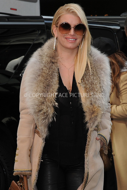www.acepixs.com<br /> October 26, 2016 New York City<br /> <br /> Jessica Simpson was seen in Midtown Manhattan on October 26, 2016 in New York City.<br /> <br /> Credit: Kristin Callahan/ACE Pictures<br /> <br /> <br /> Tel: 646 769 0430<br /> Email: info@acepixs.com