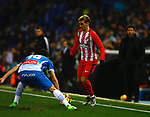 Antoine Griezmann, RCD Espanyol 1 v 0 Atletico de Madrid, RCDE Stadium, Barcelona. La Liga Santander 2017/2018, Jornada 17. Photo Martin Seras Lima
