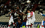Once Caldas venció 1-0 a Independiente Santa Fe.  Fecha 15 Liga Águila II-2018.