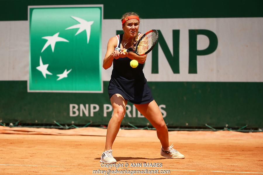 ELINA SVITOLINA (UKR)<br /> <br /> Tennis - French Open 2015 -  Roland Garros - Paris -  ATP-WTA - ITF - 2015  - France <br /> <br /> &copy; AMN IMAGES