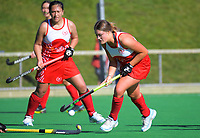 Action from the Wellington Hockey women's open grade premier one match between Toa and Kapiti at National Hockey Stadium in Wellington, New Zealand on Saturday, 3 August 2019. Photo: Dave Lintott / lintottphoto.co.nz