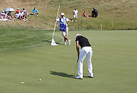 James Morrison (ENG) putting on 16 during Round Three of the 2015 Alstom Open de France, played at Le Golf National, Saint-Quentin-En-Yvelines, Paris, France. /04/07/2015/. Picture: Golffile | David Lloyd<br /> <br /> All photos usage must carry mandatory copyright credit (© Golffile | David Lloyd)