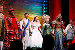 Jonathan Freeman, Tituss Burgess, Sean Palmer, Sierra Boggess, Sherie Rene Scott  &amp; Norm Lewis<br /> during the Opening Night Performance Curtain Call of &quot;The Little Mermaid&quot; at the Lunt-Fontaine Theatre in New York City.<br /> January 10, 2008