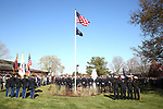 Dedication of Sculpture of World War II Hero General Harry Rockafeller at the Wall Township Municipal Complex.