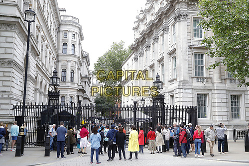 LONDON, ENGLAND - JUNE 04: Scen in Whitehall outside in 10 Downing Street, during the second day of Trump State Visit on June 4, 2019 in London, England. <br /> CAP/GOL<br /> ©GOL/Capital Pictures