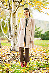 Sunday Mail fashion with Mirella , Coats at Mt Lofty Botanic Gardens.  Photo: Nick Clayton