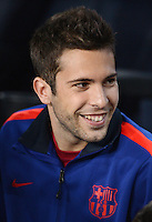 FUSSBALL   INTERNATIONAL   CHAMPIONS LEAGUE   2012/2013      FC Barcelona - Celtic FC Glasgow       23.10.2012 Jordi Alba (Barca)