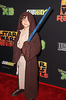"August Maturo<br /> at the premiere of ""Star Wars Rebels,"" AMC Century City, Century City, CA 09-27-14<br /> David Edwards/DailyCeleb.com 818-915-4440"