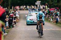 Michael Valgren (DEN/Astana)<br /> <br /> Stage 20 (ITT): Saint-Pée-sur-Nivelle >  Espelette (31km)<br /> <br /> 105th Tour de France 2018<br /> ©kramon