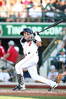 Great Lakes Loons Christian Lara during the Midwest League All Star Game at Parkview Field in Fort Wayne, IN. June 22, 2010. Photo By Chris Proctor/Four Seam Images