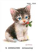 GIORDANO, CHRISTMAS ANIMALS, WEIHNACHTEN TIERE, NAVIDAD ANIMALES, paintings+++++,USGI2218,#XA#