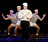 Variety Soup <br /> by Slightly Fat Features at the Leicester Square Theatre, London, Great Britain <br /> press photocall <br /> 15th December 2014 <br /> <br /> <br /> <br /> Matt Bernard <br /> chef <br /> <br /> Photograph by Elliott Franks <br /> Image licensed to Elliott Franks Photography Services