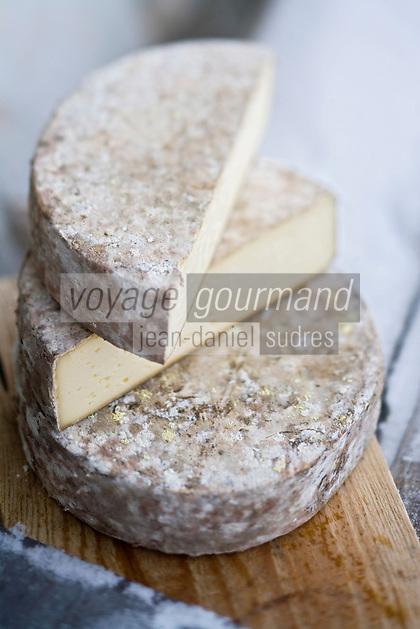 Europe/France/73/Savoie/Val d'Isère: Tomme de Savoie de la Ferme de l'Adroit