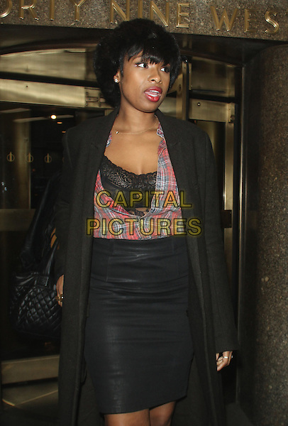 NEW YORK, NY - DECEMBER 18: Jennifer Hudson seen in New York City on December 18, 2015.  <br /> CAP/MPI/RW<br /> &copy;RWMPI/Capital Pictures