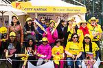 City Kaiak fans during the Hong Kong T20 Blitz match between Kowloon Cantons and HKI United at Tin Kwong Road Recreation Ground on March 11, 2017 in Hong Kong, Hong Kong. Photo by Marcio Rodrigo Machado / Power sport Images