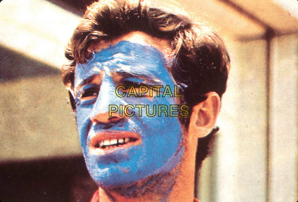 JEAN PAUL BELMONDO.in Pierrot Le Fou.Filmstill - Editorial Use Only.Ref: FB.sales@capitalpictures.com.www.capitalpictures.com.Supplied by Capital Pictures.