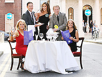 19/8/2010. TV3 SEASON LAUNCH. Jackie Lavin,Ray Foley, Glenda Gilsen, Matt Cooper and Elaine Butler Doolin are pictured on Kildare St Dublin for the launch of the TV3 Autumn season. Picture James Horan/Collins Photos.