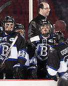 Drew Callin (Bentley - 27), Will Suter (Bentley - 10), Ben Murphy (Bentley - Assistant Coach), Tyler Deresky (Bentley - 11) - The Bentley University Falcons defeated the Army West Point Black Knights 3-1 (EN) on Thursday, January 5, 2017, at Fenway Park in Boston, Massachusetts.The Bentley University Falcons defeated the Army West Point Black Knights 3-1 (EN) on Thursday, January 5, 2017, at Fenway Park in Boston, Massachusetts.