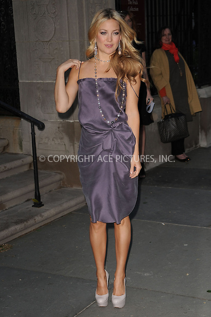 WWW.ACEPIXS.COM . . . . . ....April 29 2010, New York City....Actress Kate Hudson arriving at Chopard's 150 years of excellence Gala at The Frick Collection on April 29, 2010 in New York City. ....Please byline: KRISTIN CALLAHAN - ACEPIXS.COM.. . . . . . ..Ace Pictures, Inc:  ..(212) 243-8787 or (646) 679 0430..e-mail: picturedesk@acepixs.com..web: http://www.acepixs.com