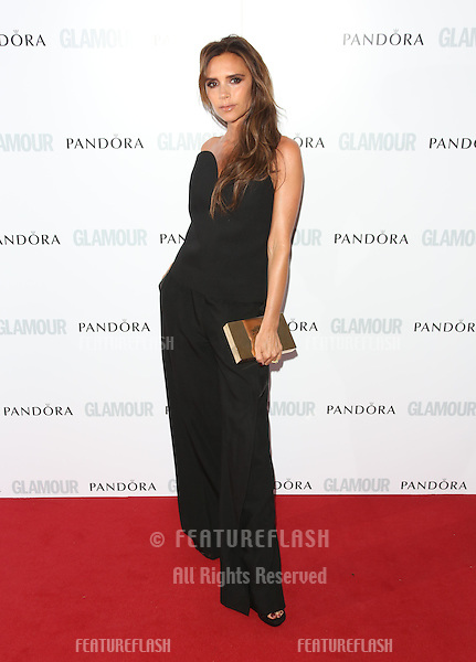 Victoria Beckham arriving for the 013 Glamour Women of The Year Awards, Berkeley Square, London. Picture by: Henry Harris / Featureflash