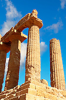 Greek Temple of Juno Lacina, Agrigento, sicily