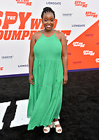 Lolly Adefope at the world premiere for &quot;The Spy Who Dumped Me&quot; at the Fox Village Theatre, Los Angeles, USA 25 July 2018<br /> Picture: Paul Smith/Featureflash/SilverHub 0208 004 5359 sales@silverhubmedia.com