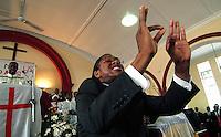 Sunday morning at Methodist Church in Langa, Cape Tow, SA 2007