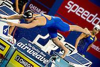 MIZZAU Alice ITA<br /> 100 freestyle women<br /> heats<br /> FINA Airweave Swimming World Cup 2015<br /> Doha, Qatar 2015  Nov.2 nd - 3 rd<br /> Day0 - Nov. 1 st<br /> Photo G. Scala/Deepbluemedia/Insidefoto