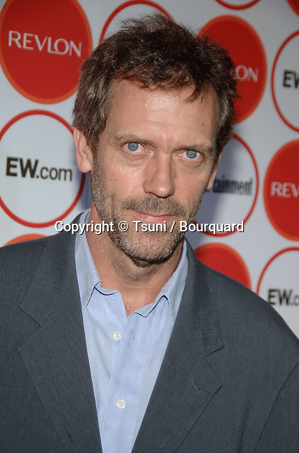 Hugh Laurie  arriving at the Entertainment Weekly 4th Annual Pre-Emmy Party at the Republic Club  in Los Angeles. August 26, 2006.<br /> <br /> headshot<br /> eye contact