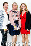 Pictured at the Rose of Tralee Fashion Show on Sunday night last held in the Dome, Tralee, l-r: Elaine McLouglin and Karen O'Sullivan (Ballyheigue) with Joanne Kenny (Dublin).