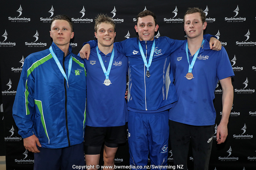 New Zealand Short Course Swimming Championships, National Aquatic Centre, Auckland, New Zealand, Thursday 3rd October 2019. Photo: Simon Watts/www.bwmedia.co.nz/SwimmingNZ
