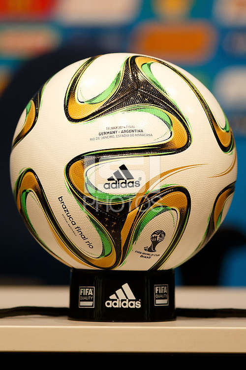 The Brazuca final rio match ball for the World Cup Final