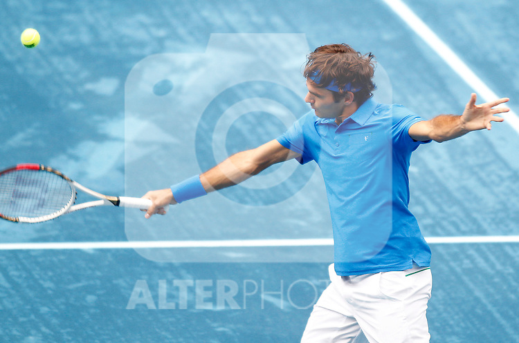 Janko Tipsarevic during Madrid Open Tennis 2012 Match.May, 12, 2012(ALTERPHOTOS/ALFAQUI/Acero)
