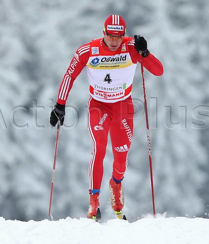 02 01 2010  Ski Nordic FIS WC Oberhof Tour de Ski Oberhof Germany 02 Jan 10 Ski Nordic Cross-country skiing FIS World Cup Tour de Ski 15km classic men Picture shows Dario Cologna SUI .
