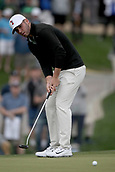 February 2nd 2019, Scottsdale, Arizona, USA; Matthew Wolff putts during the third round of the Waste Management Phoenix Open on February 02, 2019, at TPC Scottsdale in Scottsdale, AZ. Wolff is competing as an amateur.